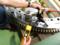 ウインドタービンのピッチベアリング油圧レンチで組立て