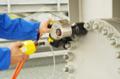 [油圧トルクレンチ][油圧レンチ][トルク管理工具][大型ボルト締め][フランジボルト]プララド 油圧トルクレンチでフランジボルト締め