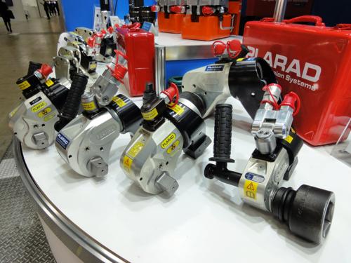 プララド油圧トルクレンチ 大型ボルト締め 最大トルク4500Nm