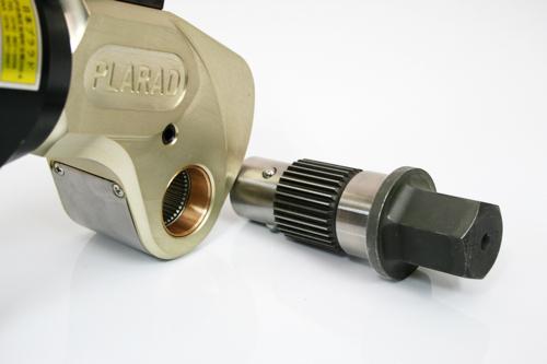 プララド油圧トルクレンチ 六角穴付きボルト締め用 最大トルク2100Nm
