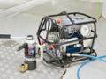 [ボルトテンショナー][油圧テンショナー][日本プララド][ウインドタービン][風力タービン][軸力管理工具][大型ボルト締め]PLARAD ボルトテンショナーで大型ボルト締め