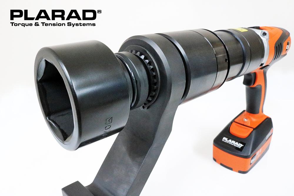 PLARAD コードレス電動トルクレンチPL2-30STCL 最大締付けトルク3000Nm