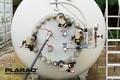 [油圧トルクレンチ][油圧レンチ][日本プララド][ボルトの同時締め付け][ボルト並行締め][ボルト平行締め][大型トルクレンチ]日本プララド - 油圧トルクレンチ4台でボルト並行締め