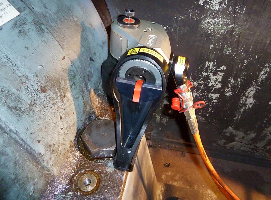 日本プララド - 油圧トルクレンチPL950SC 締付けトルク7000Nm
