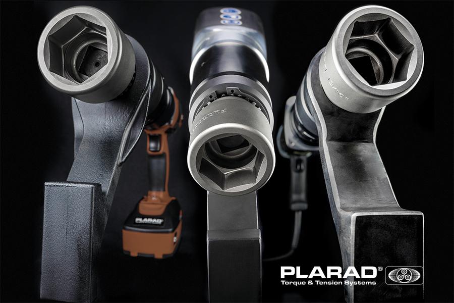 PLARAD コードレス電動トルクレンチ7機種 最大トルク8000Nm
