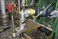 [電動トルクレンチL型][電動レンチL型][日本プララド][ボルトのトルク管理][大型ボルト締め]日本プララド - 電動トルクレンチL型のオフセットギア装着