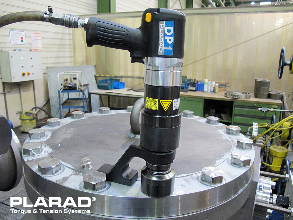 PLARAD  エアートルクレンチ 大型ボルト締付けトルク3000Nm