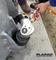 プララド油圧トルクレンチで大型アンカーボルト締め