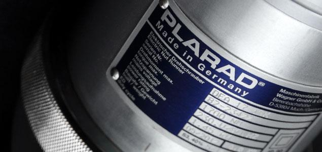 PLARAD 電動トルクレンチ(大型ボルト締め付け用)