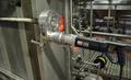 [プレート式熱交換器][熱交換器のボルト締め][熱交換器のボルト締め][電動トルクレンチ][日本プララド][Plarad]プレート式熱交換器の大型ボルト締め用 電動トルクレンチ工具