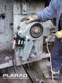 [M130のボルト締め付け][M120ボルト締め][M110ボルト締め][M100ボルト締め][油圧トルクレンチ][油圧レンチメーカー][大型ボルト締め工具][Plarad][日本プララド]M130の超大型ボルト締め付けトルク45,000Nm 日本プララド