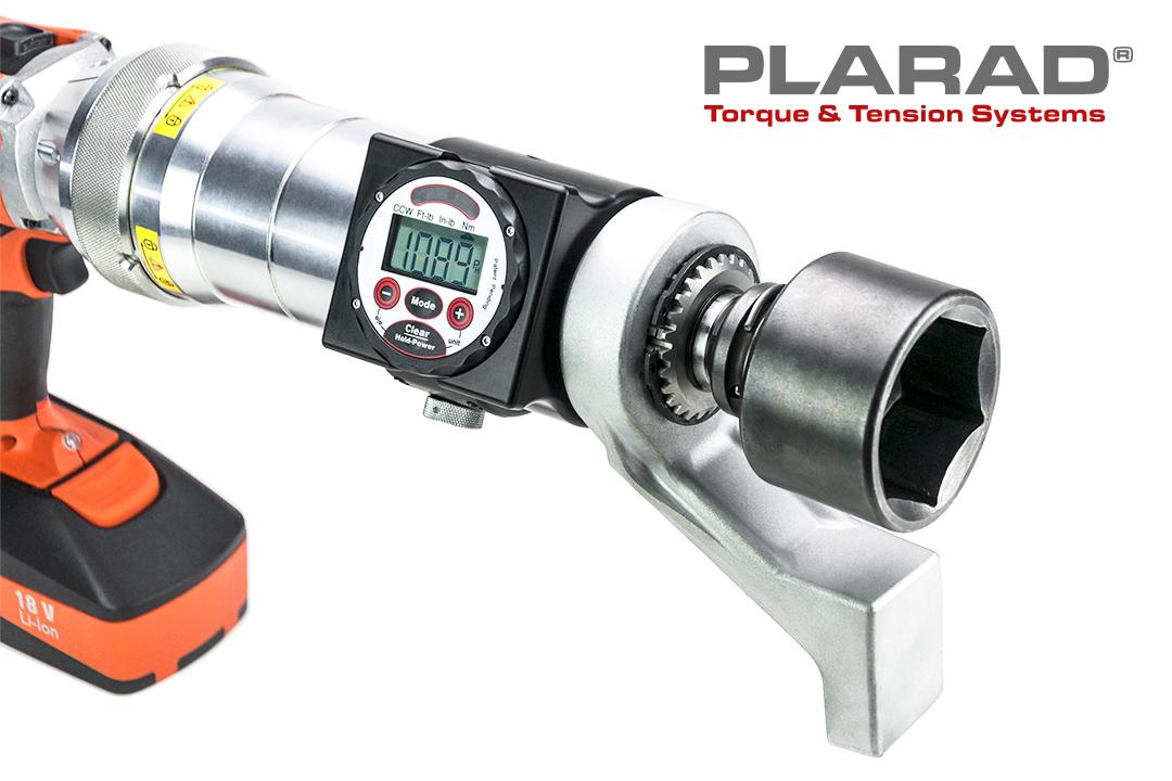 PLARAD コードレス電動トルクレンチ 最大締付けトルク3600Nm