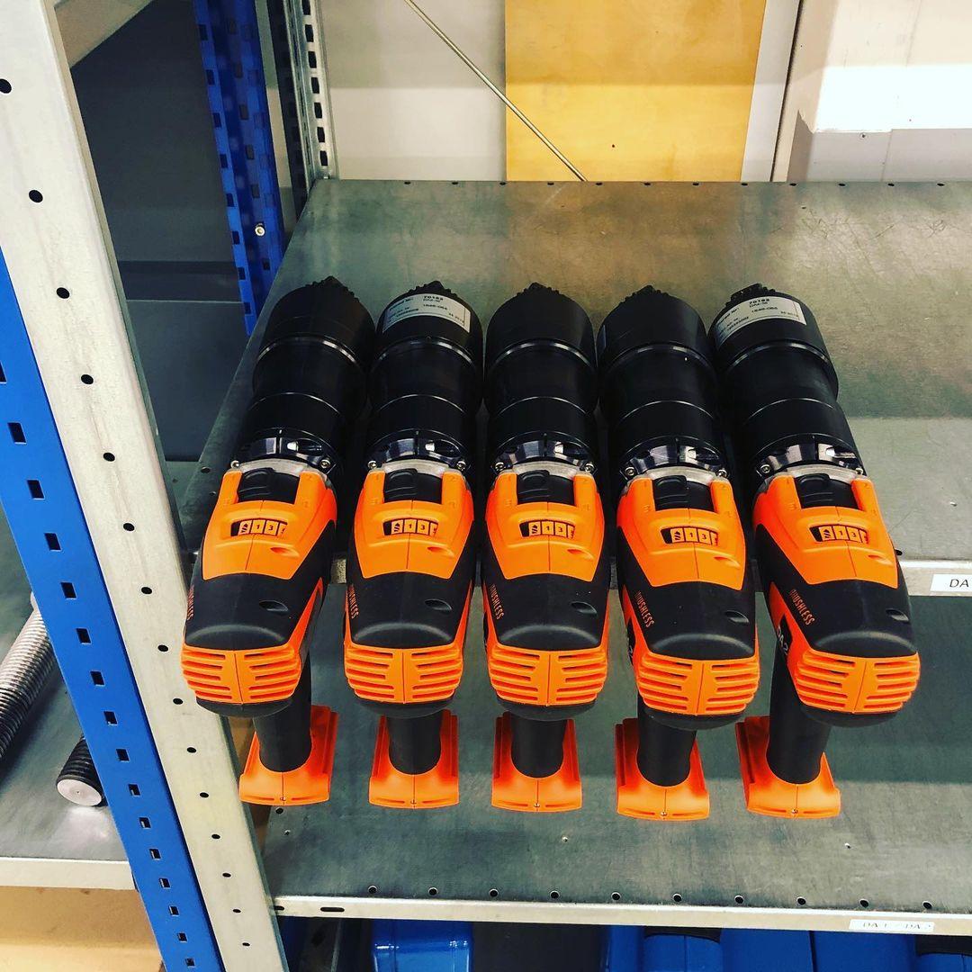 コードレス電動トルクレンチ7機種 大型ボルト締め用工具-日本プララド