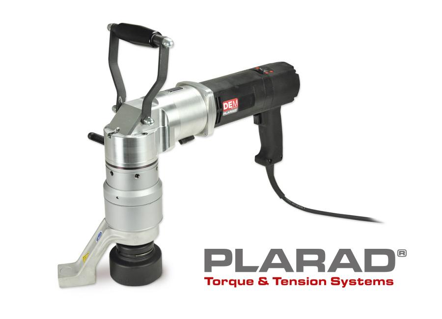 プララド電動トルクレンチ L型 最大締付けトルク4800Nm