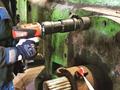 [日本プララド][コードレス電動レンチ][電動トルクレンチ][トルク管理工具][大型トルクレンチ][DA2-30][大型ボルト締め工具][締め付けトルク2000Nm]コードレス電動トルクレンチで大型ボルト締め-日本プララド
