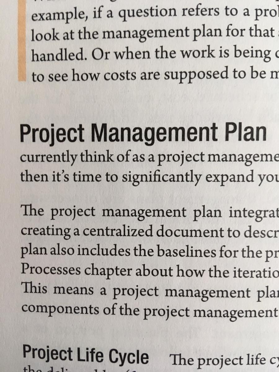Rita本 プロジェクトマネジメント計画書