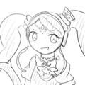 ガァララちゃんのこんな感じの表情が好き。