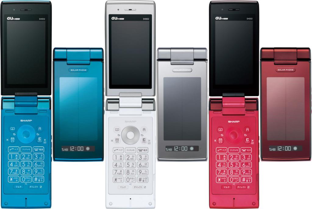 SHARP SH002 携帯 ガラケー