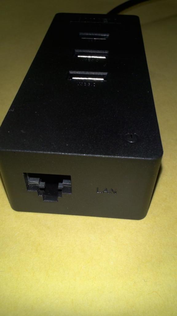 AUKEY USB 3.0ハブ 3ポート+有線LANポート バスパワー 高速 軽量 コンパクト CB-H15