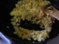 パラパラに仕上がった焼き飯