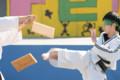[跆拳道][テコンドー][岡山大学][学祭][2010][板割]