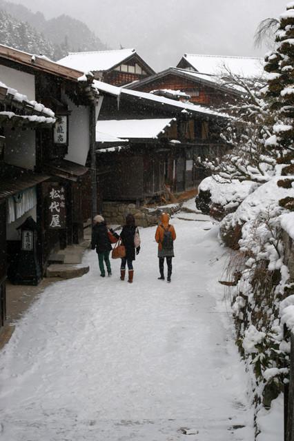 [妻籠宿][長野県][冬][雪][2011年]