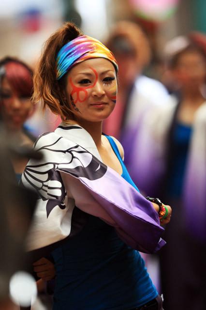 [美踊獅][2011年][岡山][うらじゃ][夏祭り][踊り]