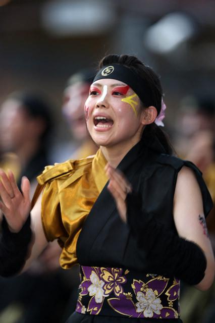 [おかやましんきん連][2011年][岡山][うらじゃ][夏祭り][踊り][岡山桃太郎祭り]