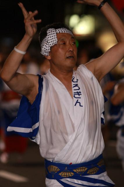 [広島銀行 やっさ会][第36回][三原][やっさ祭り][2011年][踊り][夏祭り][三原市]