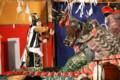 [スサノオノミコト][八岐大蛇][ヤマタノオロチ][大蛇退治][中世夢が原][大神楽][井原市][2011年][第16回][祓い]
