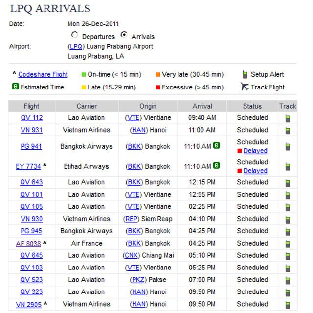 [http://www.luangprabangairport.com/][琅勃拉邦][LPQ][VLLB][Laos]