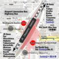 [map][okayama station][busterminal][inujima][saidaiji]