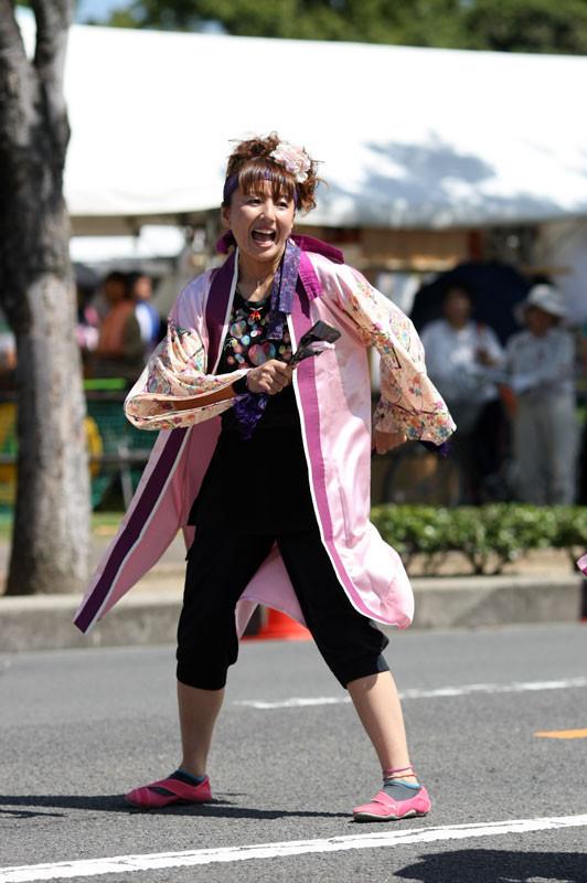 [teamMOMO][婆沙羅][ばさら][風起][丸亀][2012年8月26日][香川県][夏祭り][踊り]