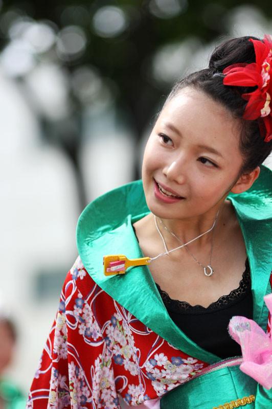 [オッ★ペンギンキッズ][婆沙羅][ばさら][風起][丸亀][2012年8月26日][香川県][夏祭り][踊り]