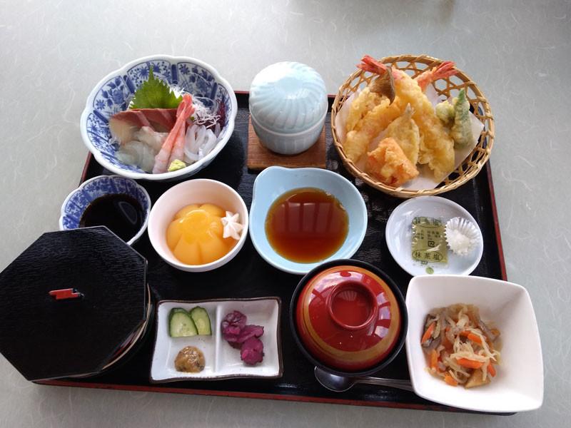 店長おまかせ定食、1600円、10月26日