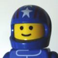 [LEGO][アイコン][クルマ][F1]青ヘルメット
