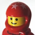 [LEGO][アイコン][クルマ][F1]赤ヘルメット