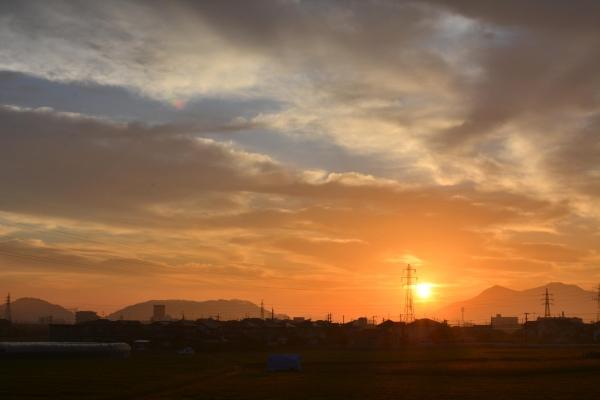朝焼け(2015年9月14日)