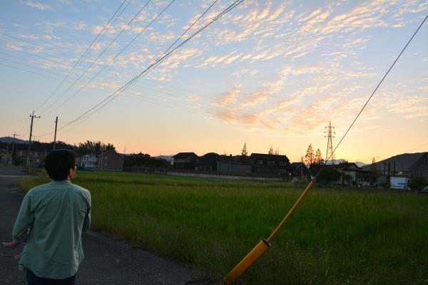 夕焼け小焼け(2015年10月3日)