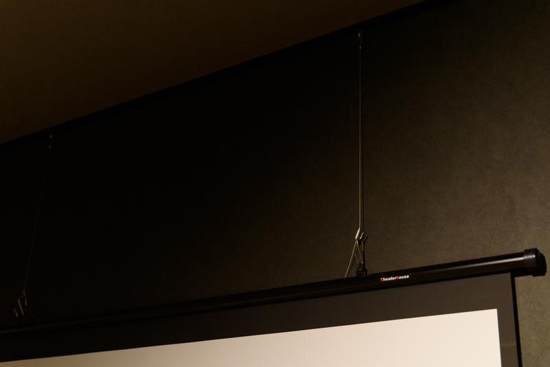 シアターハウス 100インチ スクリーン ピクチャーレール BTP2214WEM