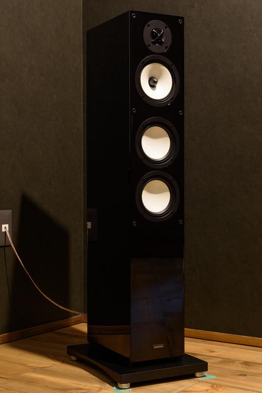 ONKYO D-509  シアタールーム ホームシアター トールボーイ スピーカー ピアノブラック