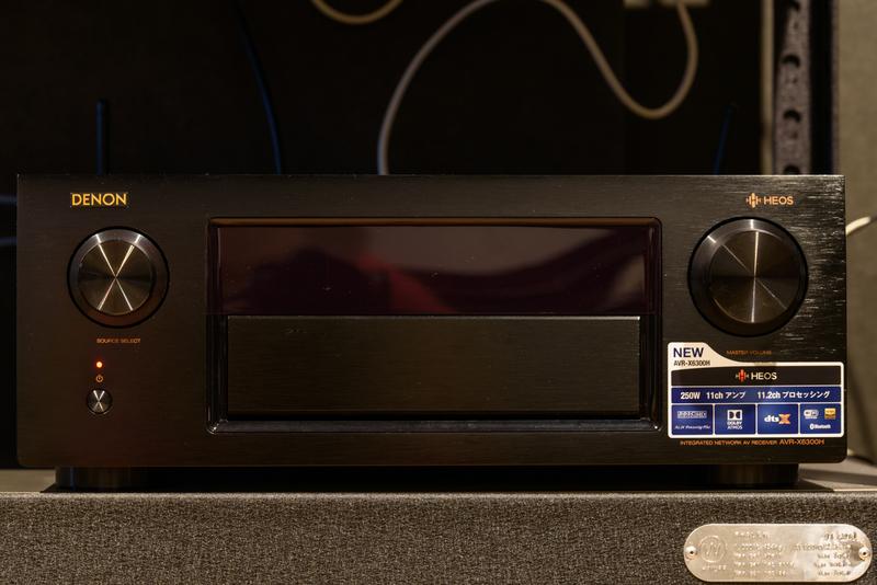 シアタールーム ホームシアター DENON AVR-X6300H Dolby Atmos DTS:X