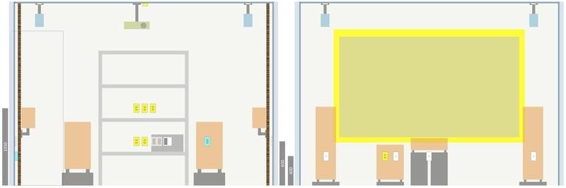 シアタールーム 設計 配置 配線