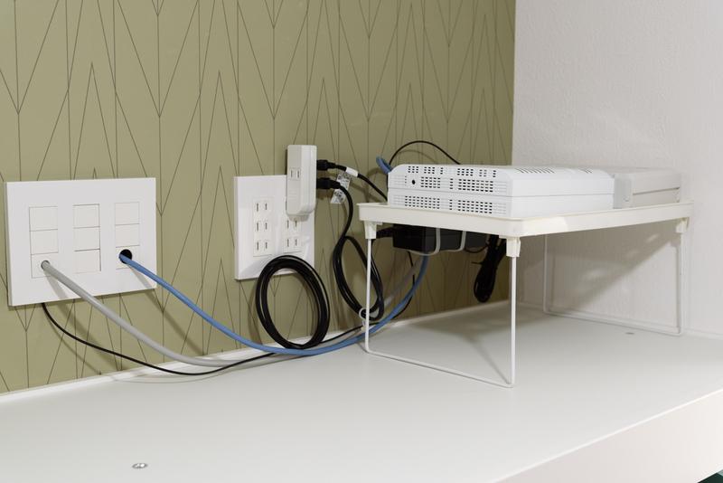 ネット機器 ホームゲートウェイ LAN配線