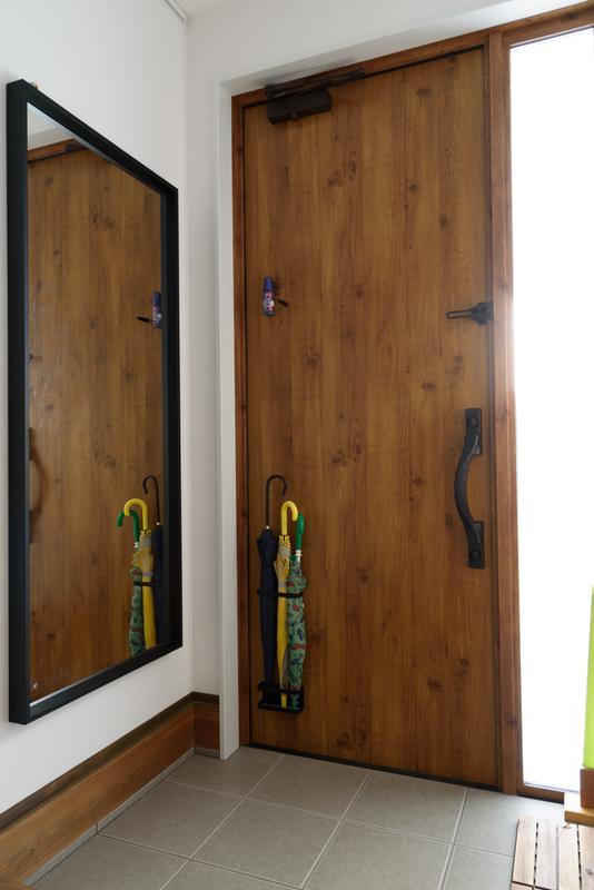 玄関 ヴェナート 採光 姿見 IKEA