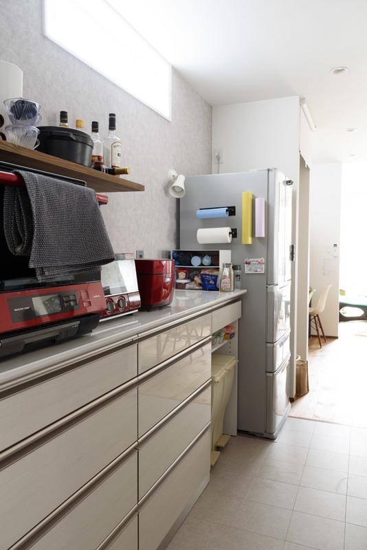 綾野製作所 AYANO カップボード 背面収納 キッチン