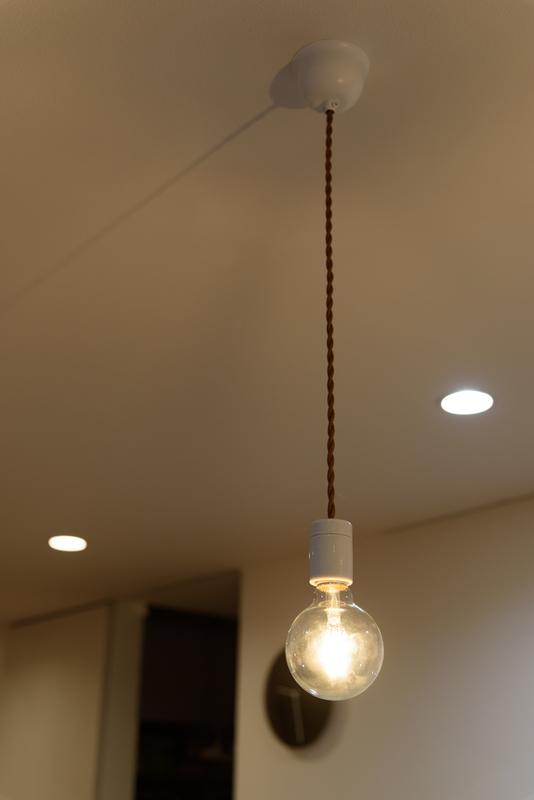 ペンダント照明 DIY モーガルソケット