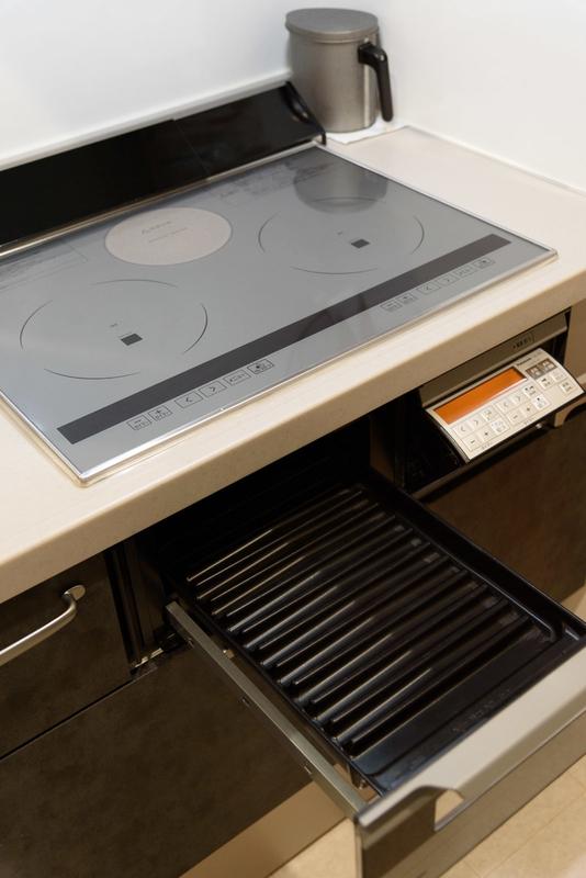 キッチン 加熱機器 IHクッキングヒーター Panasonic ラクッキングリル