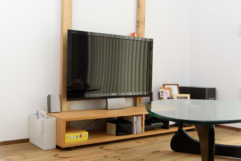 リビング 東芝 Z2 壁掛けテレビ ラブリコ コーヒーテーブル ホームシアター リビングシアター