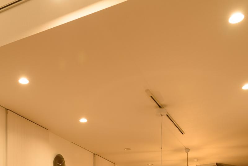 ダイニング 照明 コイズミ 一体型ダウンライト